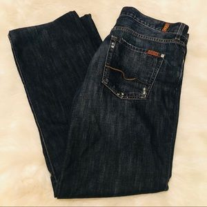 7fam Relaxed Straight Leg Jeans in Montana